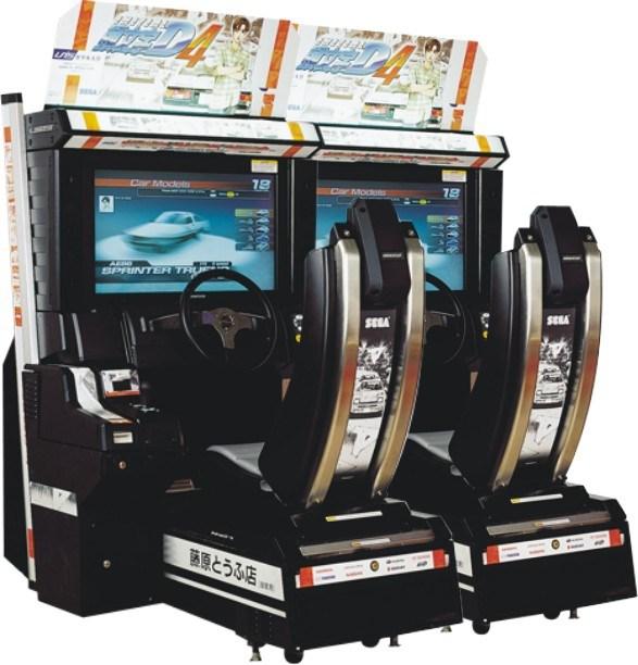 Initial D 4 Arcade