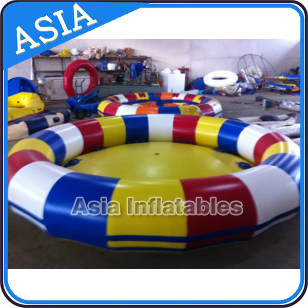 Water Toy Inflatable Disco Boat, Inflatable Disco Boat Crazy UFO