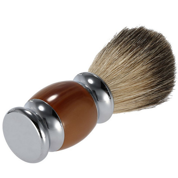 Professional Makeup Badger Hair Shaving Brush for Male