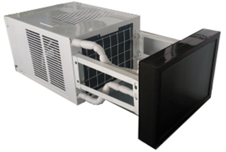 Energy Saving Window Mounted Type Hybrid Solar Air Conditioner