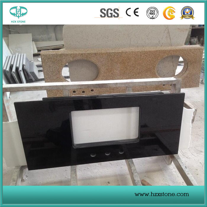 Hebei/Shanxi/Mongolia/China Black Granite Slabs/Kitchen/Bathroom Vanity Top/Countertops