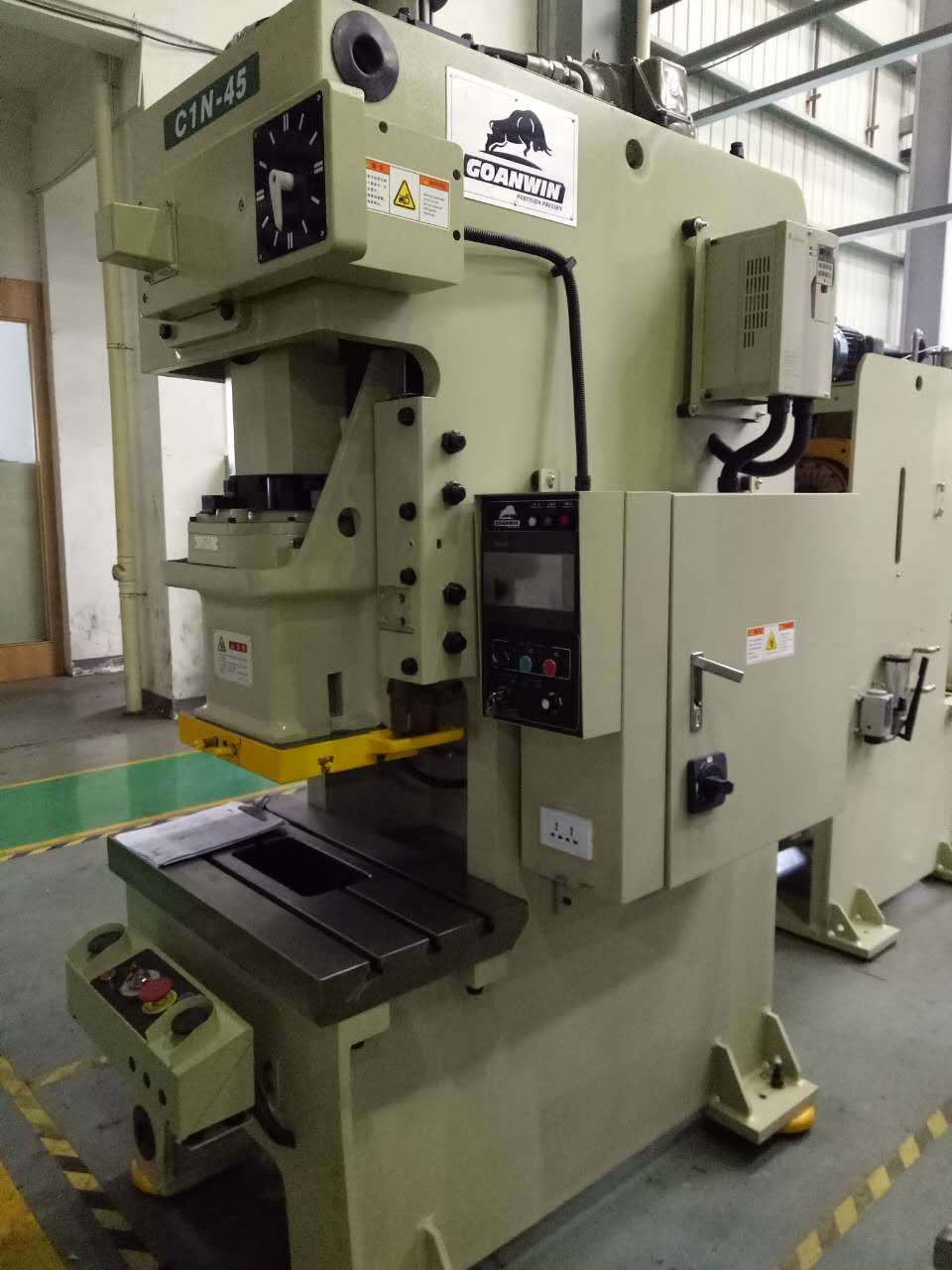 15-400 Ton C-Frame Single Crank Punching Machine Power Press