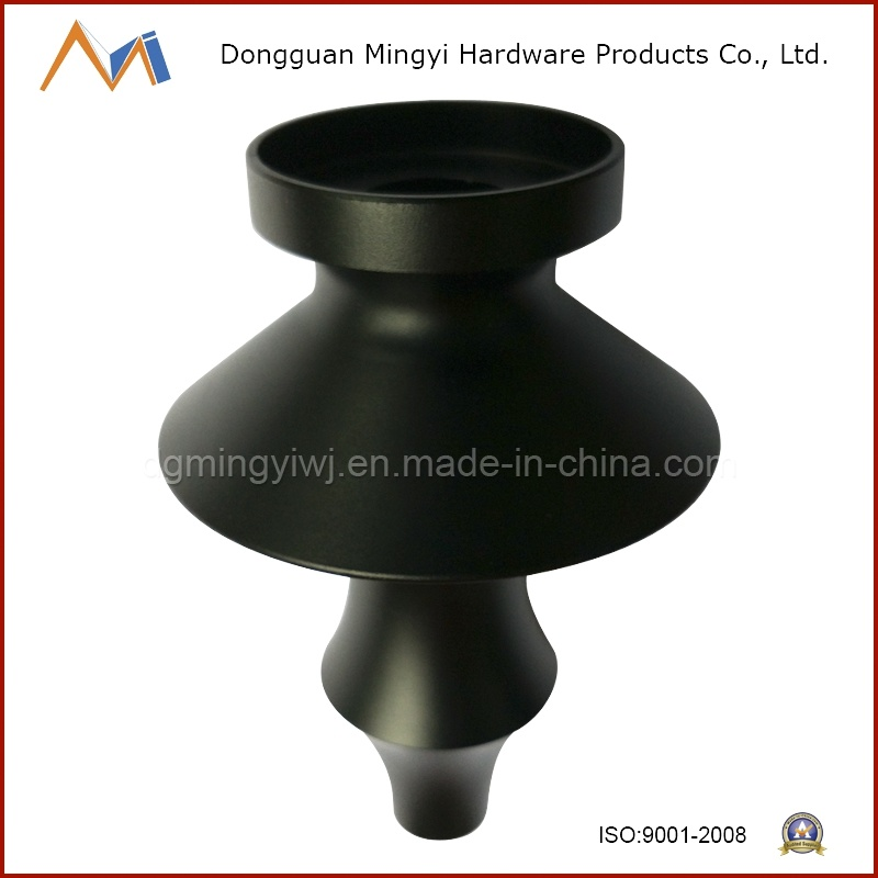 Precision Tools Aluminum Die-Casting for Smoking Parts with Black Anodizing Treatment Made in China
