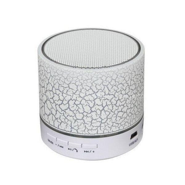 Mini Speaker Waterproof Wireless Bluetooth Speaker with LED Light