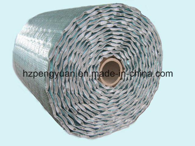 Embossed Foil XPE Thermal Break Insulation Material