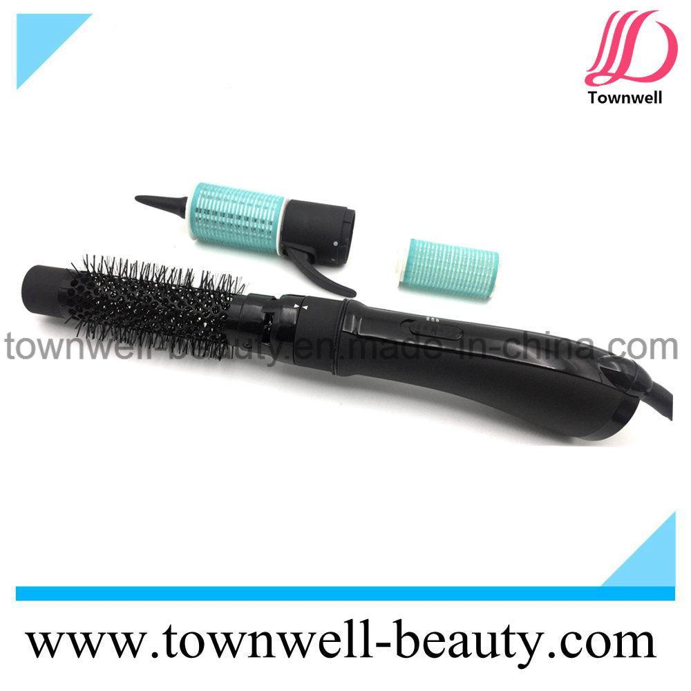 Multi Function 3 in 1 Rotating Hair Brush Hair Dryer