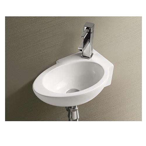 Washroom Wall Hung Wash Hand Basin Sizes Bathroom Design