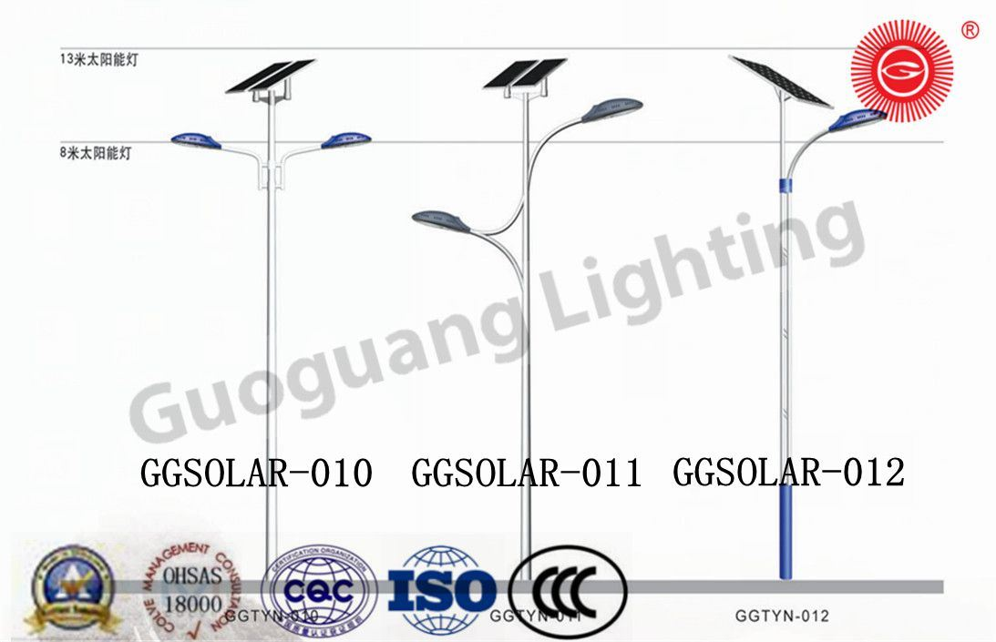 Proprietary Design LED Solar Energy Street Light
