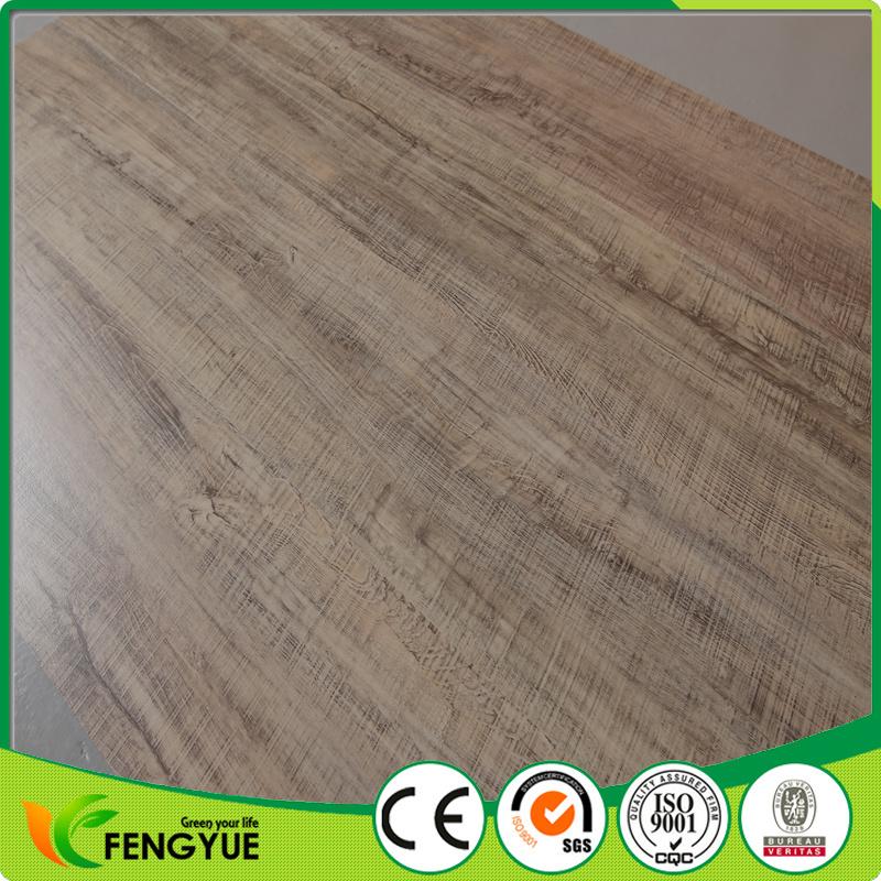Wood Grain Click Vinyl Floor Tile