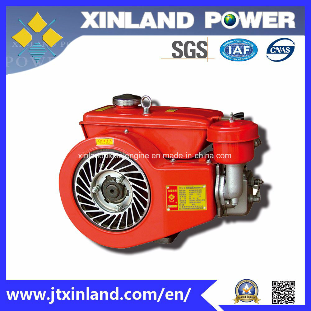 Horizontal Air Cooled 4-Stroke Diesel Engine 165fa with ISO9001/ISO14001