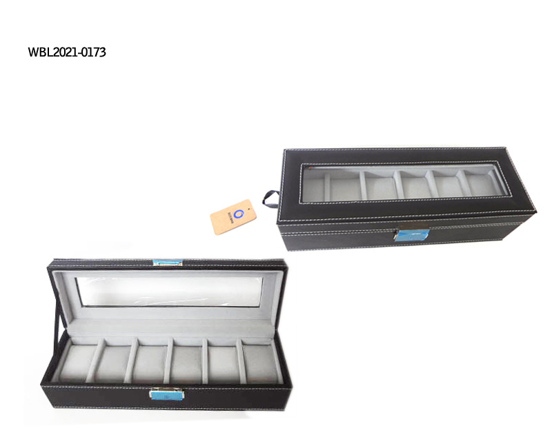 Luxury Watch Cosmetic Leather Box/Watch Box