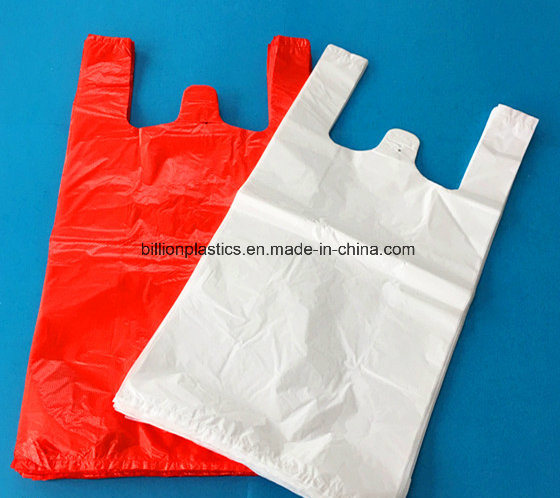 HDPE Plastic Vest Carrier Shopping Grocery T-Shirt Carry-out High Density Polyethylene Bag