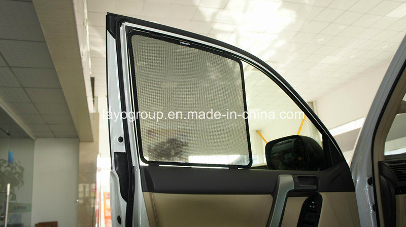 Auto Sunshade with Clip, Mesh Fabric Sunshade for Prado