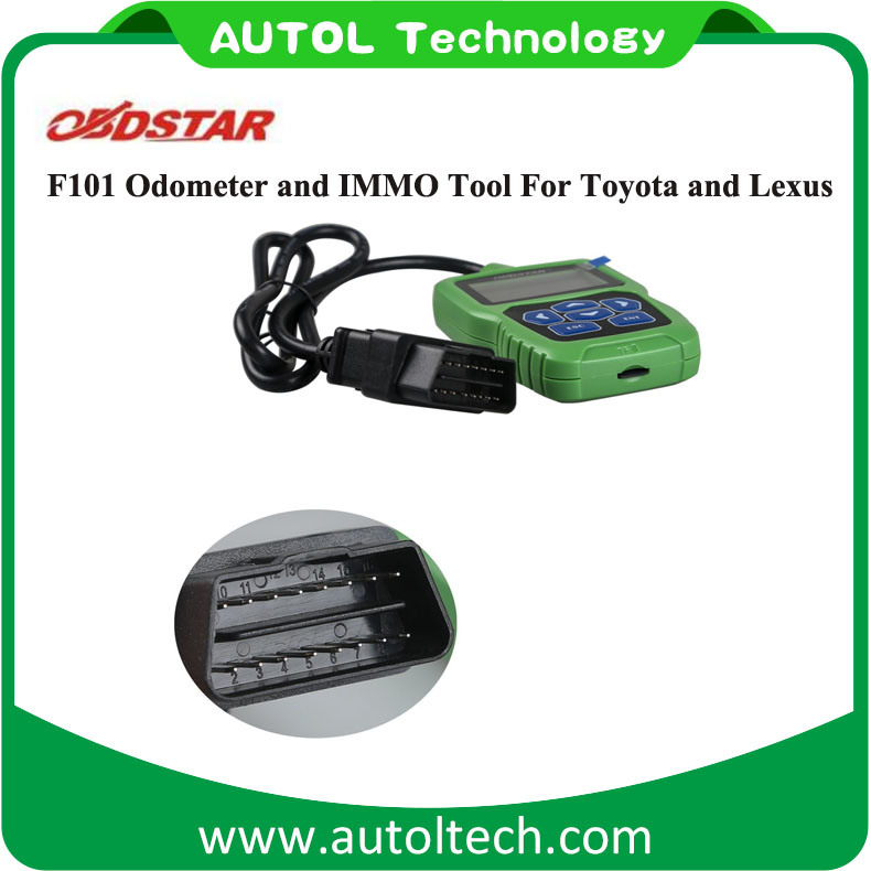 IMMO Reset Tool Obdstar F101 Odometer Adjustment for Toyota and for Lexus Support G Chip