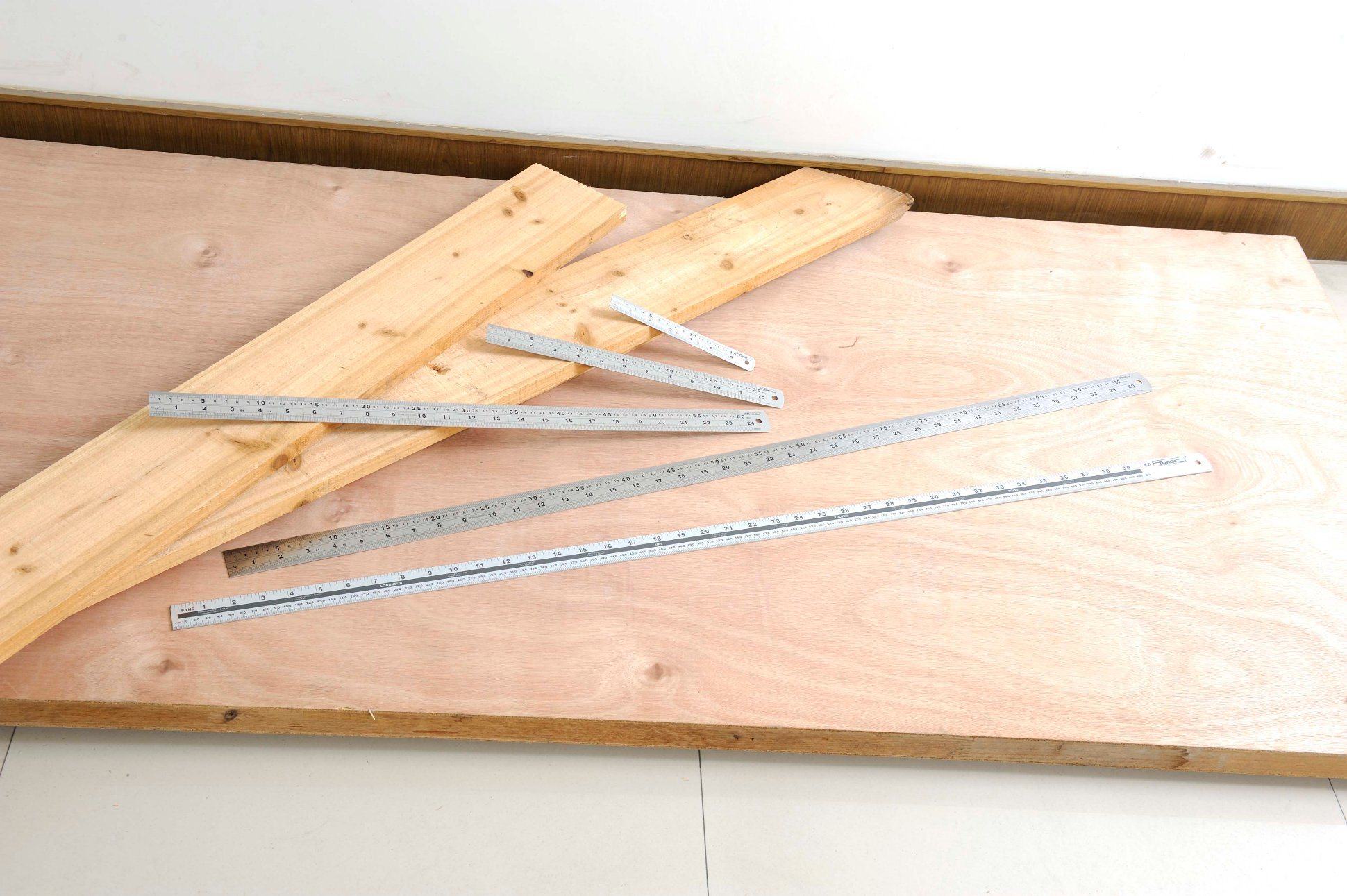 """OEM High Quality Measuring Tools 600mm (24"""") Stainless Steel Ruler"""