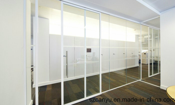 Hotel Glass Partition 6mm Thickness Tempered Glass Wall