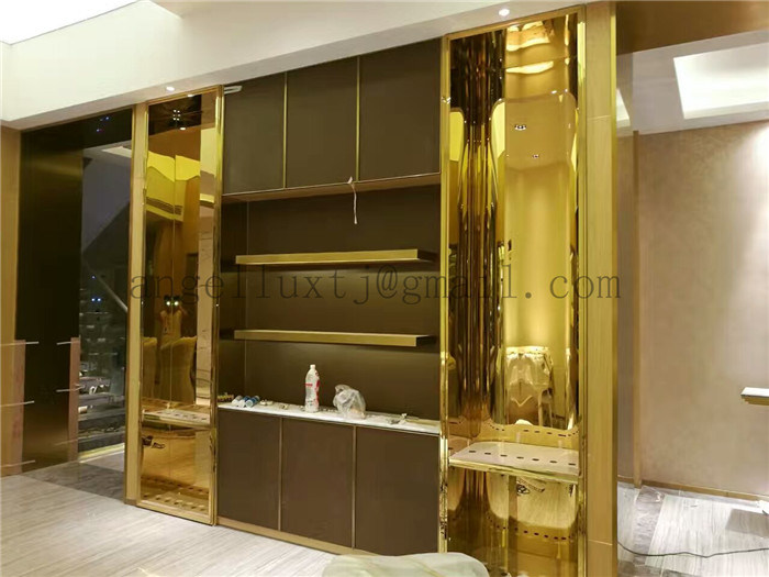 China New Design Luxury Stainless Steel Home Furniture Steel ...