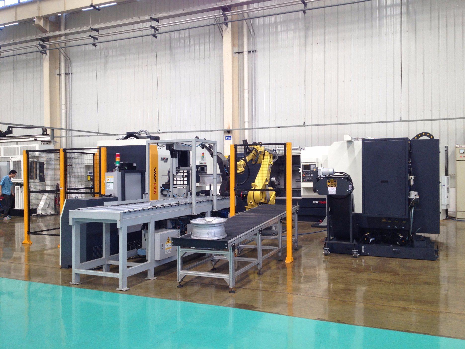 Bzxl22 Wheel Machining Machine Cell