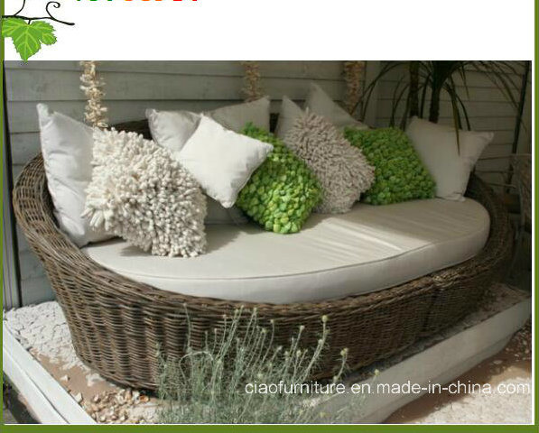 China Modern Synthetic Rattan Garden Furniture Round Outdoor .
