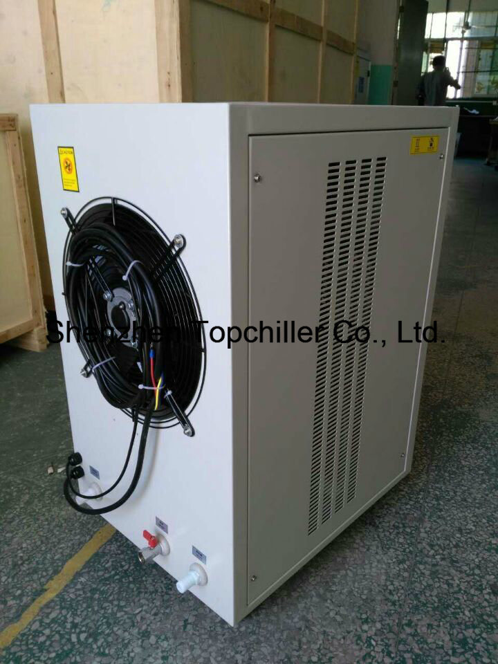 10ton/15tr Air Cooled Water Chiller in Anodized Aluminium Laboratory Testing