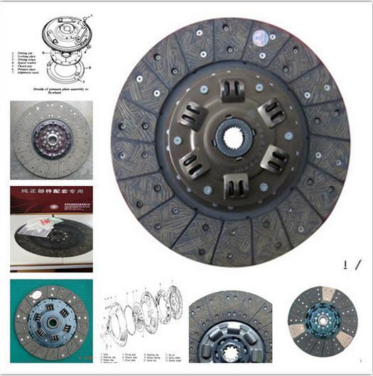 Chana Bus Clutch Specification/Clutch Stud