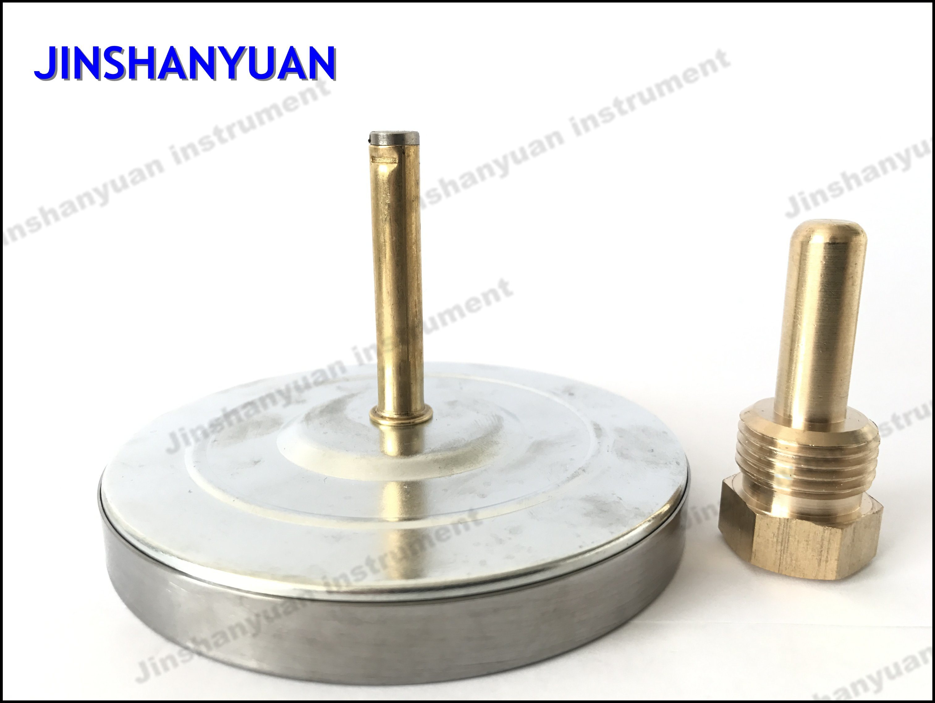 Bt-013 Hot Water Thermometer/Back Mount Thermometer /Sliding Connector Temperature Gauge