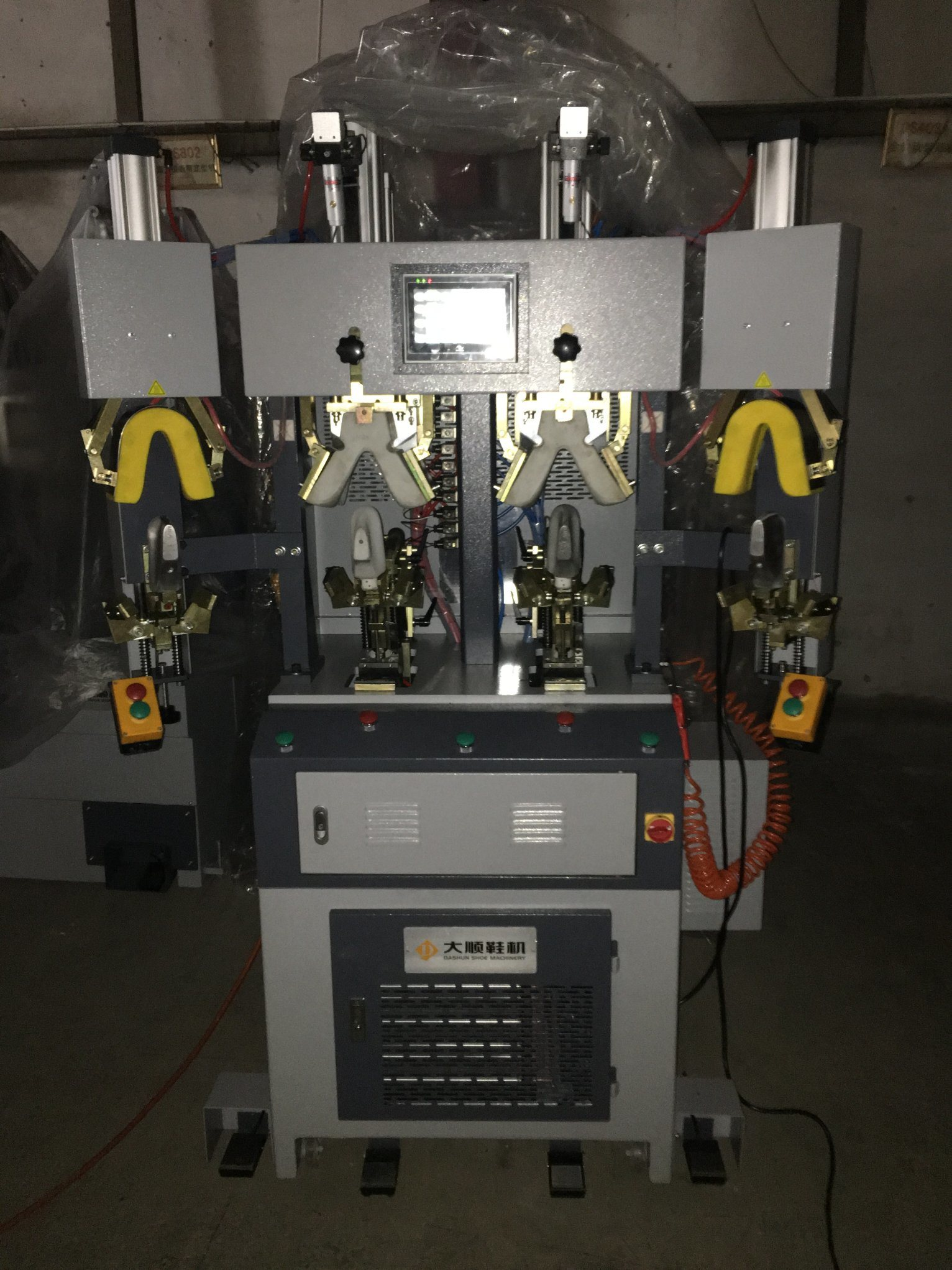 Ds-802 Hot & Cold Back Part Moulding Machine for Shoe