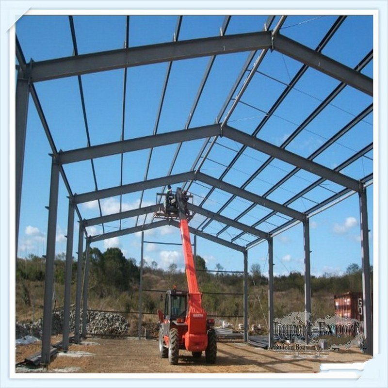 China Steel Structure Design Prefabricated Building Material Steel Frame