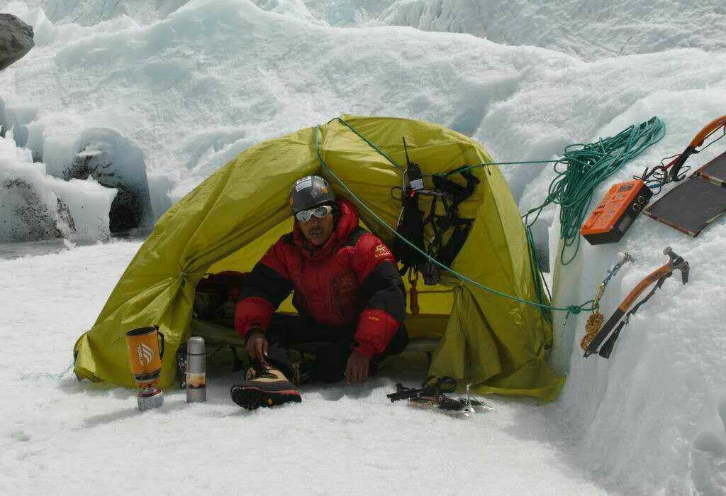 Winter Wild Companing Suspension Tent