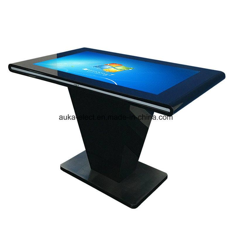 Horizontal Infrared Touch Screen Kiosk Information Machine