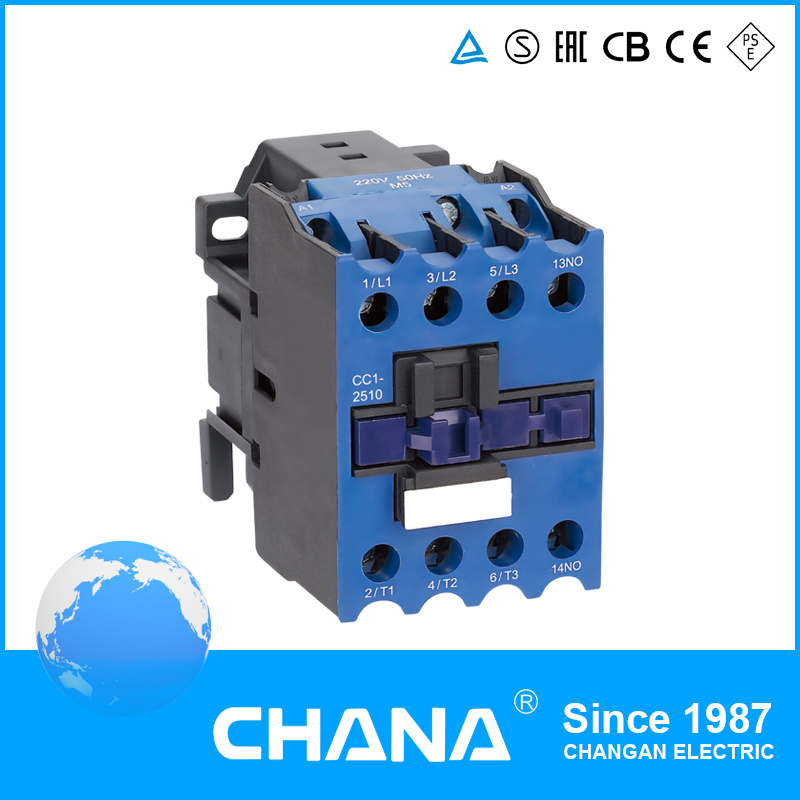 LC1-D Cjx2 40A AC/DC Magentic Contactor with Ce CB Semko Certficated