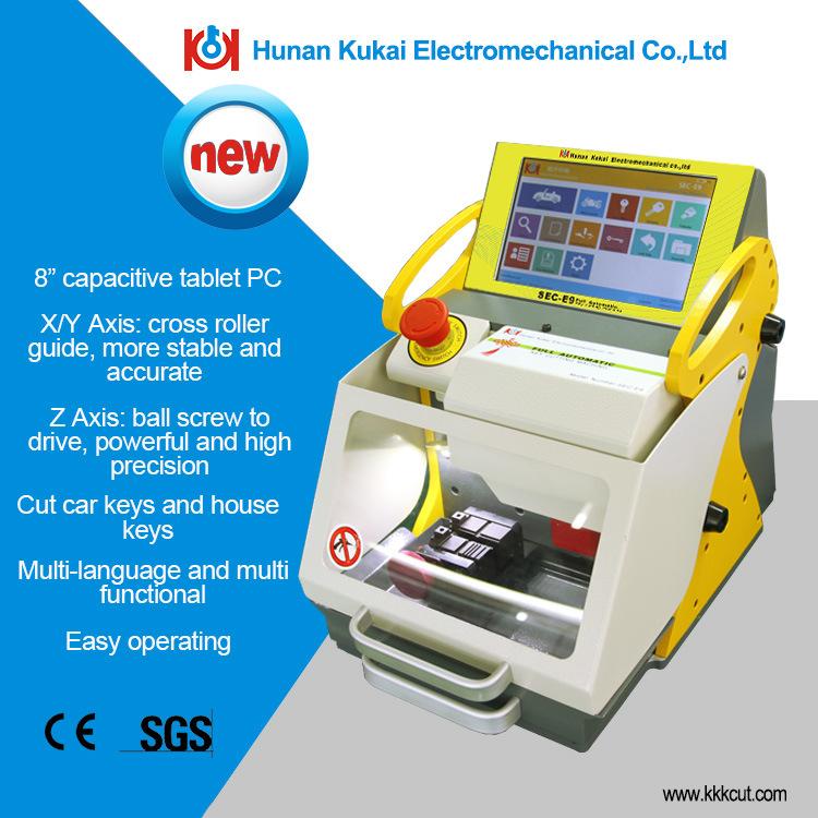 CE Approved Automatic Key Cutting Machine Sec-E9
