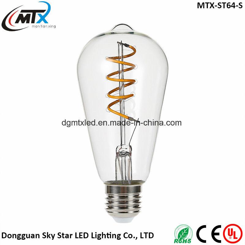 LED candle bubls MTX -- LED bulbs Retro E27 3W Edison Vintage LED Bulb Candle Light Lamp 110V/220V G125 Starry Bulb