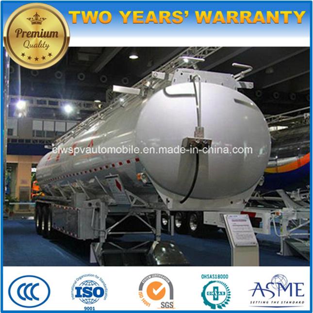 55000L Aluminum Alloy Tanker Trailer 50 Tons Fuel Tanker Truck Trailer Price