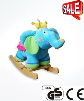 Stuffed Plush Toy Rocking Animal Rocking Horse Ca-Ra03