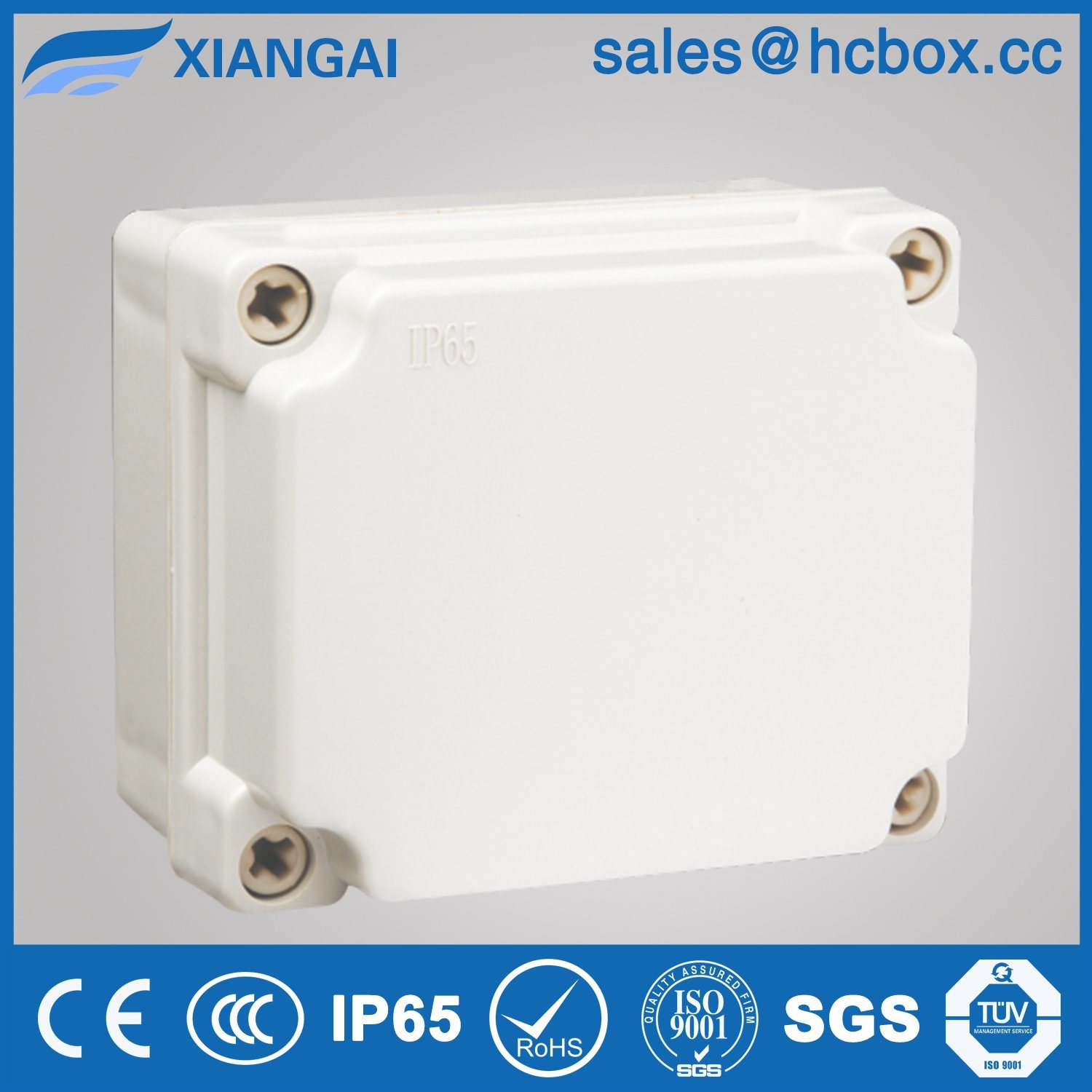 Waterproof Junction Box Cabinet IP65 Plastic Box 120*100*70mm