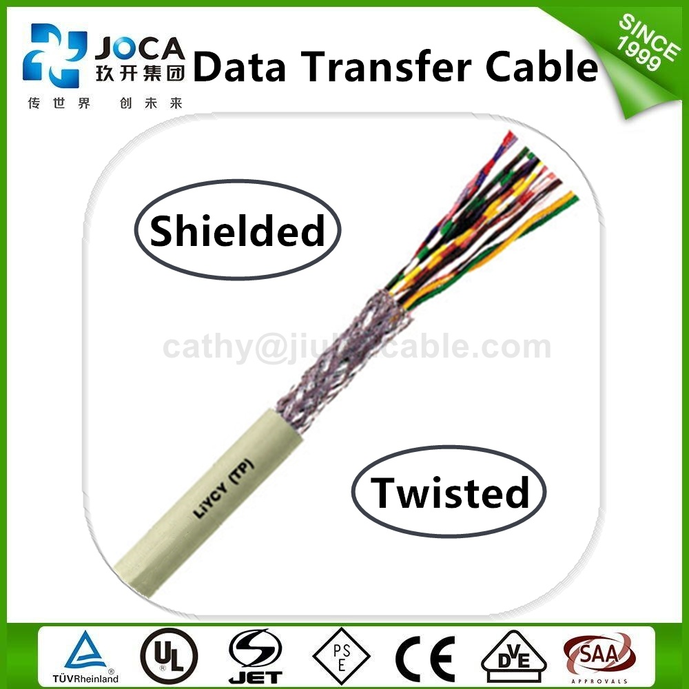 Liycy Tp Ce Standards Flexible PVC Multi-Conductor Data Transmission Cable