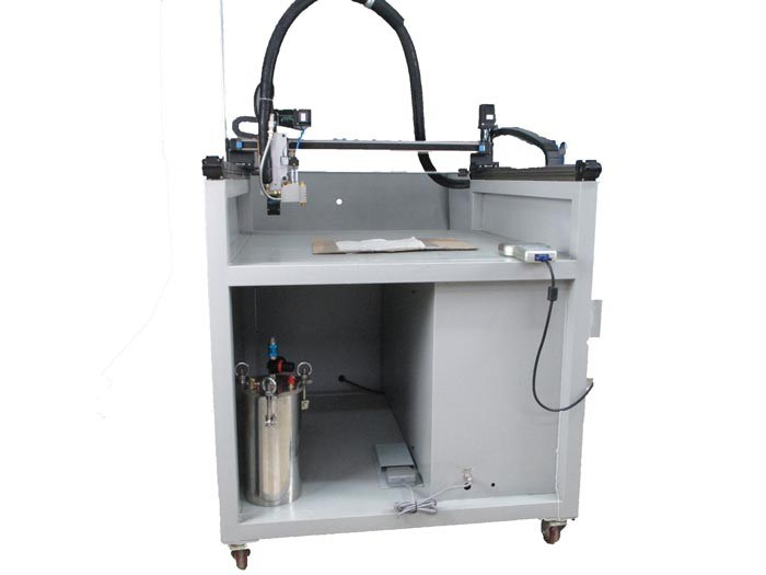 Automatic 3 Axis Glue Dispensing Machine/ Textile Coating Machine (LBD-RD3A001)
