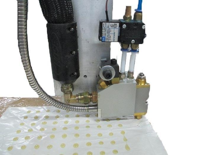 Automatic 3 Axis Glue Dispensing Machine/ Textile Coating Machine