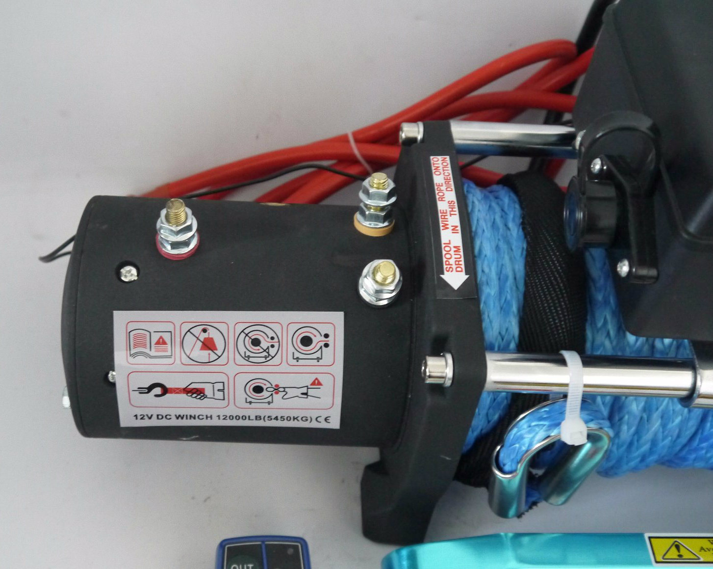 SUV Waterproof Electric Winch with Wireless Remote Control Kit (12000lbs-2)