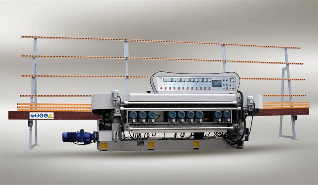 10 Motors Glass Straight Line Beveling Machine