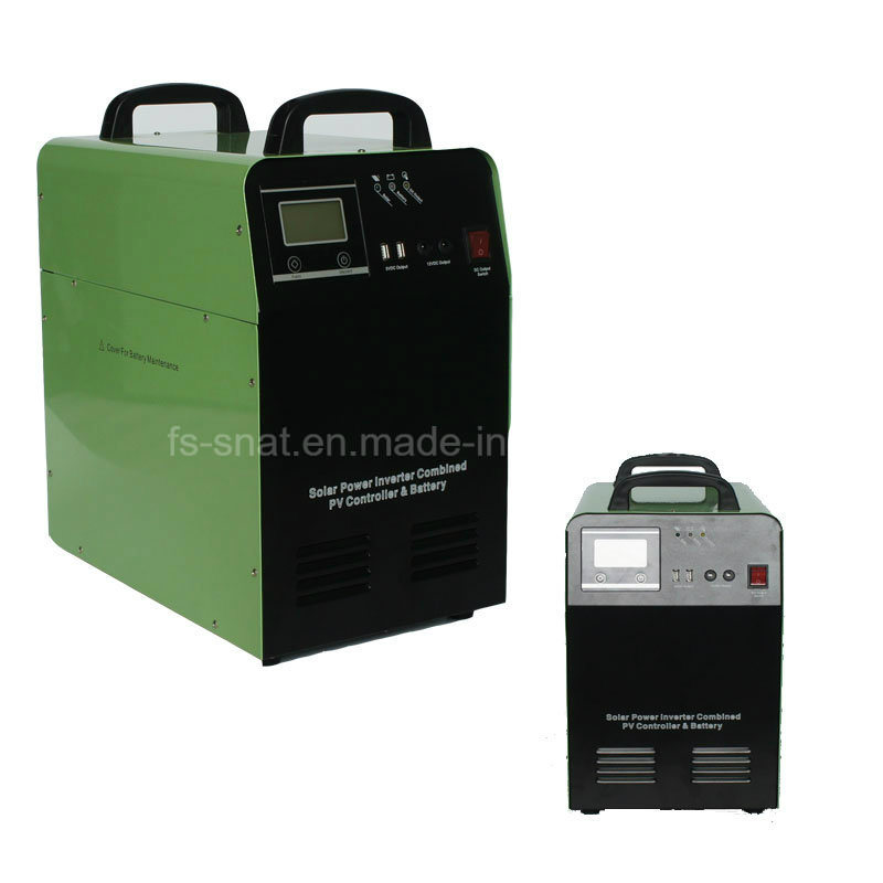 Snat 300W 500W 1000W DC AC Portable Solar Power Inverter with Charge Controller