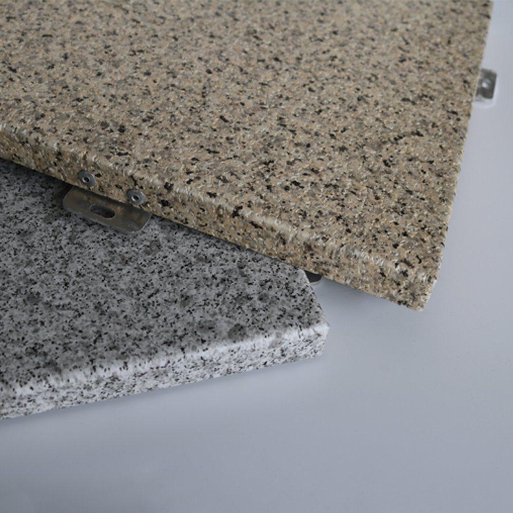 Exterior Building Materials Marble Finish Aluminum Composite Panel