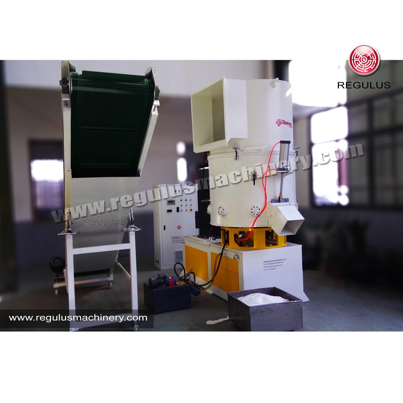 Plastic Agglomerator Recycling Mahchine/ PP PE Film Granulator Machine