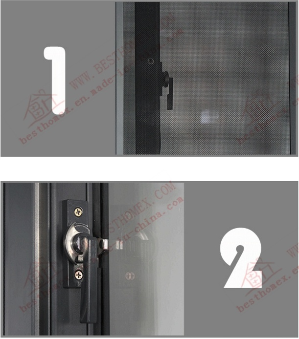 High Quality Aluminium Sliding Window (BHA-SW08)