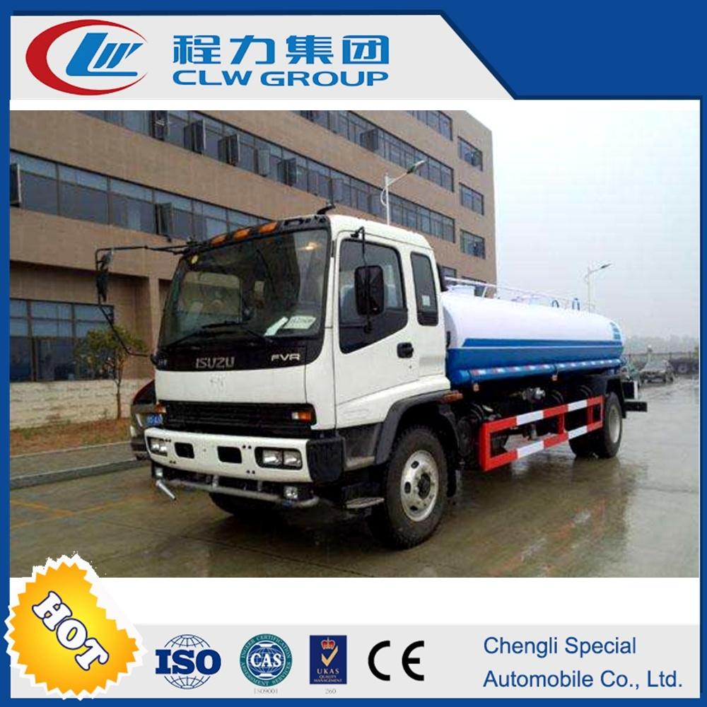 4*2 Rhd Isuzu 12tons Water Tank Water Truck