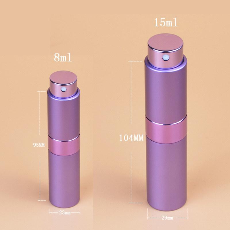 Wholesale 8ml 15ml Perfume Atomizer in Stock