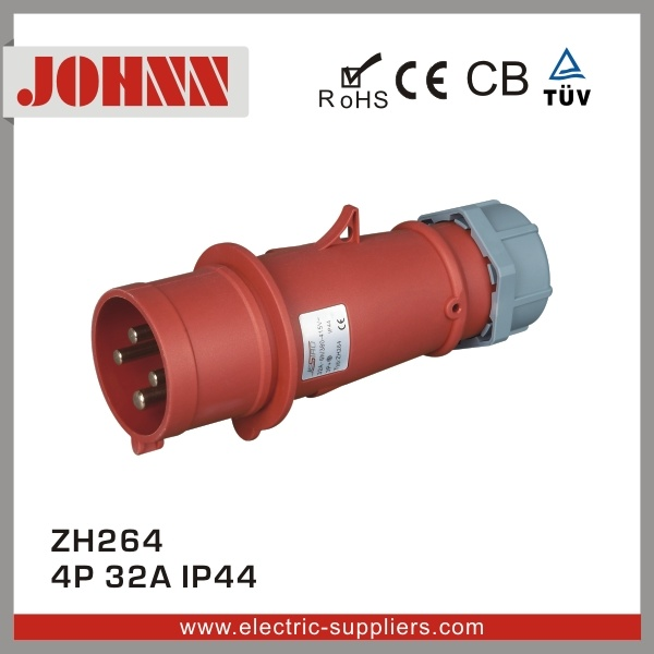 IP44 5p 32A Plug for Industrial