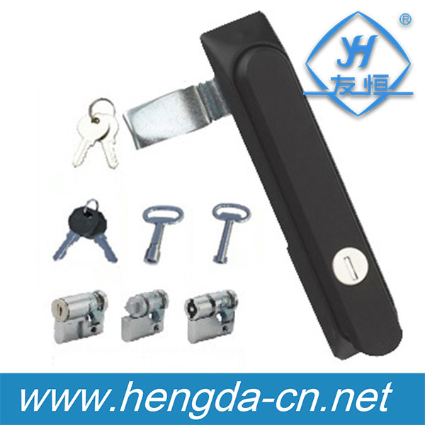 Plastic Electric Panel Mortise Lock (YH9489)
