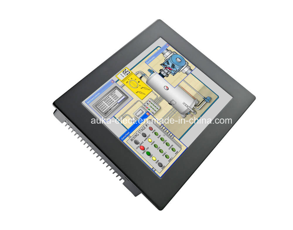 "12"" Industrial Panel Computer with Windows XP/7/10/Linux, IP65"